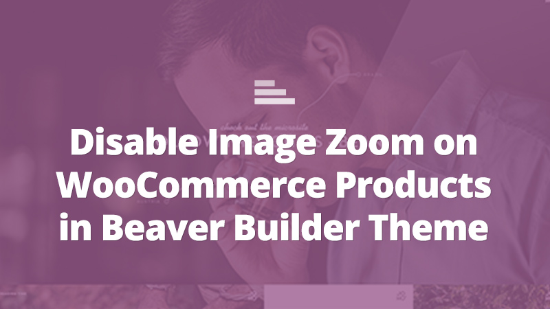 woocommerce image zoom effect